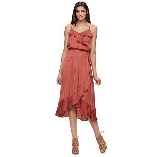 hot-midi-dresses wrap