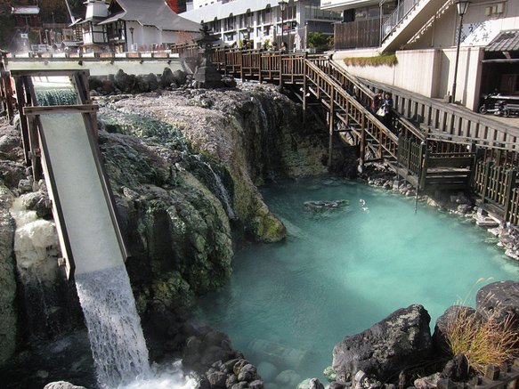 hot-springs kusatsu-onsen-japan