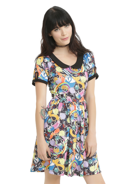 hot-topic-cn-clothes adventure-time-dress