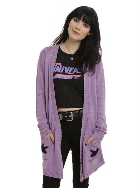 hot-topic-cn-clothes amethyst-sweater