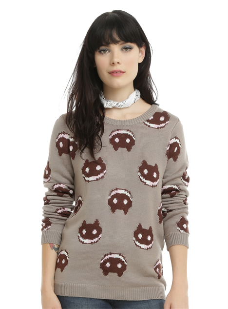 hot-topic-cn-clothes cookie-cat-sweater