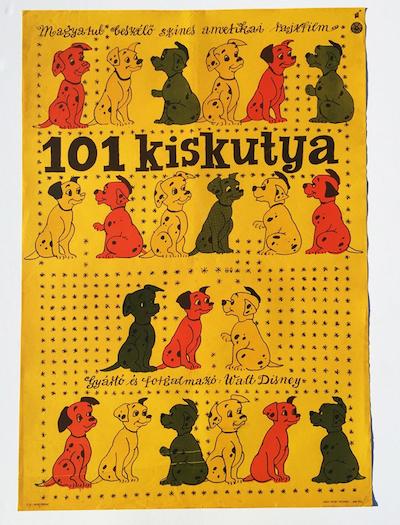 hungarian-movie-posters 101-dalmatians-hajnal-gabriella-1961