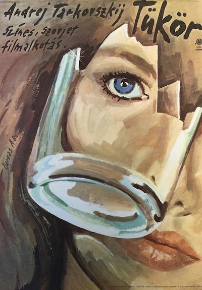hungarian-movie-posters 13-the-mirror-hungarian---artist-arpad-darvas
