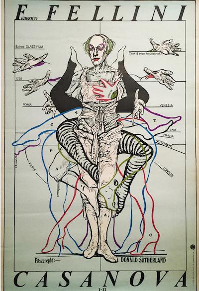 hungarian-movie-posters 17-fellini-casanova-hungarian---artist-istvan-banyai-ist-one