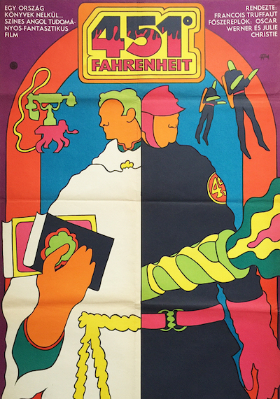 hungarian-movie-posters 2-fahrenheit-451-hungarian---artist-gyorgy-kemeny