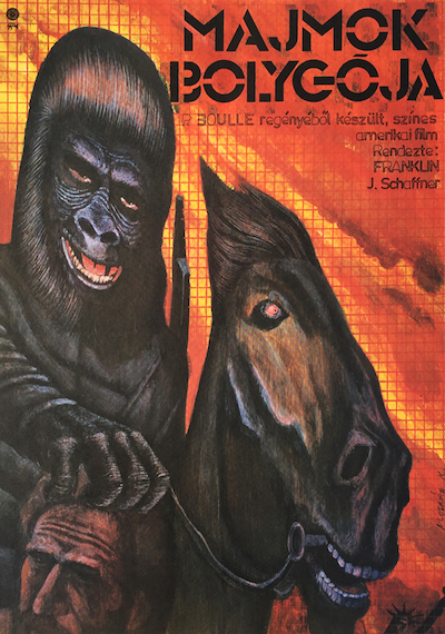 hungarian-movie-posters 5-planet-of-the-apes-hungarian---artist-kalman-molnar