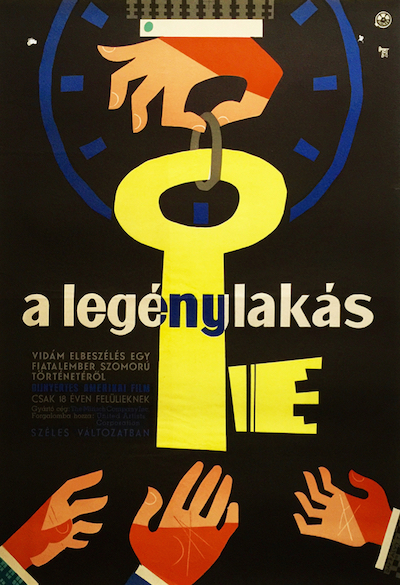 hungarian-movie-posters 6-the-apartment-hungarian---artist-ferenc-toreky