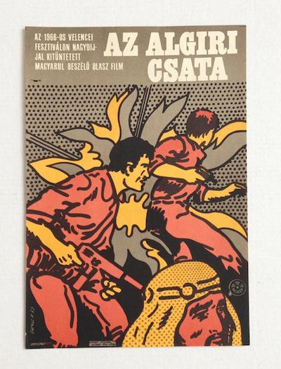 hungarian-movie-posters battle-of-algiers-darvas-arpad-1967