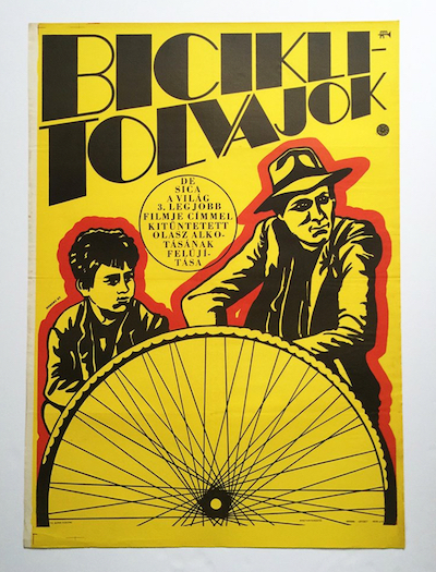 hungarian-movie-posters bicycle-thief-kemeny-gyorgy-1968