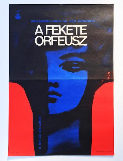 hungarian-movie-posters black-orpheus-gorog-lajos-1962