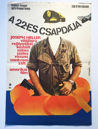 hungarian-movie-posters catch-22-molnar-kalman-1971