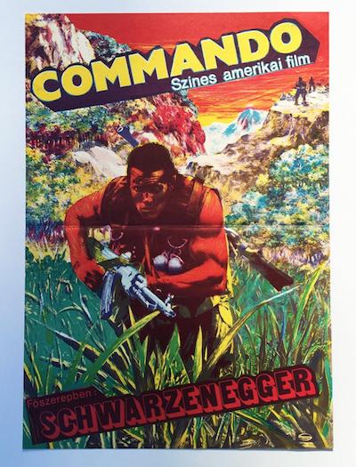 hungarian-movie-posters commando-bkkm-1989