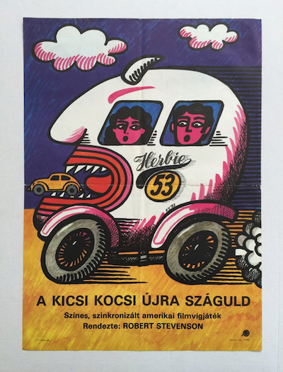 hungarian-movie-posters herbie-rides-again-kovacs-vilmos-1983