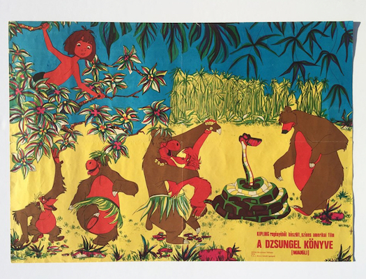 hungarian-movie-posters jungle-book-1979-bkkm