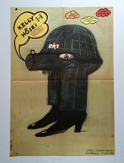hungarian-movie-posters kellys-heroes-ducki-krzysztof-1973