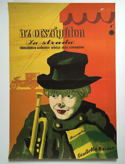 hungarian-movie-posters la-strada-toreky-ferenc-late-1950s