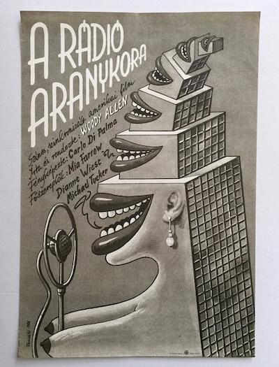 hungarian-movie-posters radio-days-felvideki-andras-1988