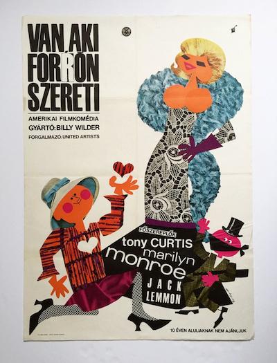 hungarian-movie-posters some-like-it-hot-so-ky-soos-laszlo---kemeny-eva-1965