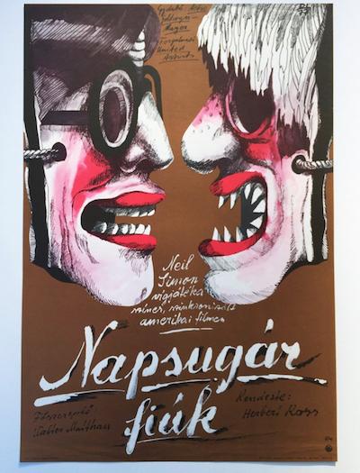 hungarian-movie-posters sunshine-boys-balogh-istvan-1977