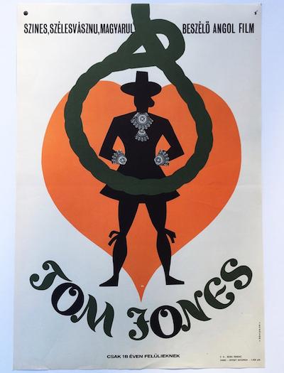 hungarian-movie-posters tom-jones-somorjai-imre-1960s