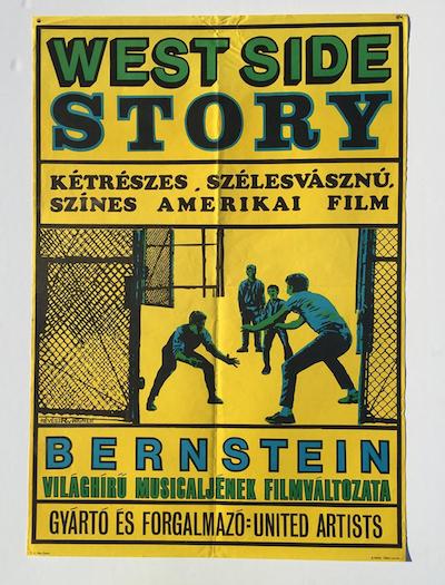 hungarian-movie-posters west-side-story-revesz-wigner-revesz-antal---wigner-judit-19