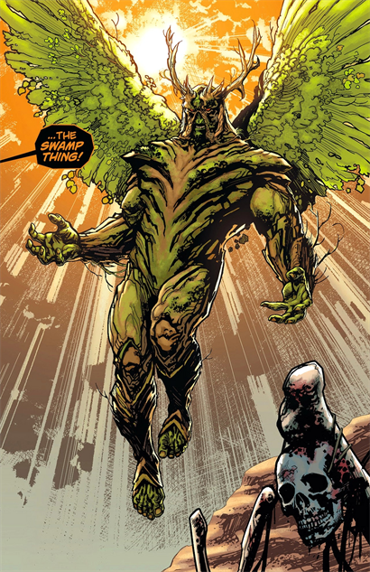 injustice2 swampthing