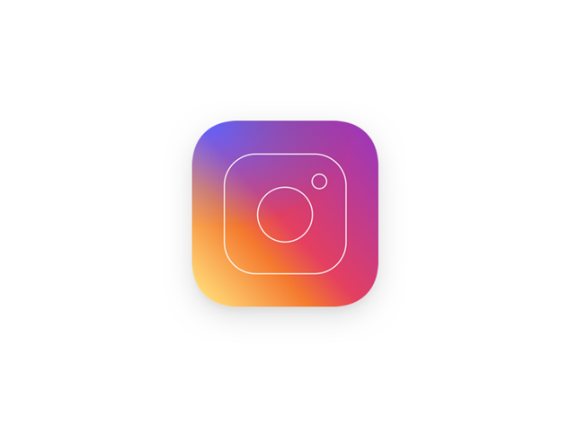 image gallery new instagram logo black