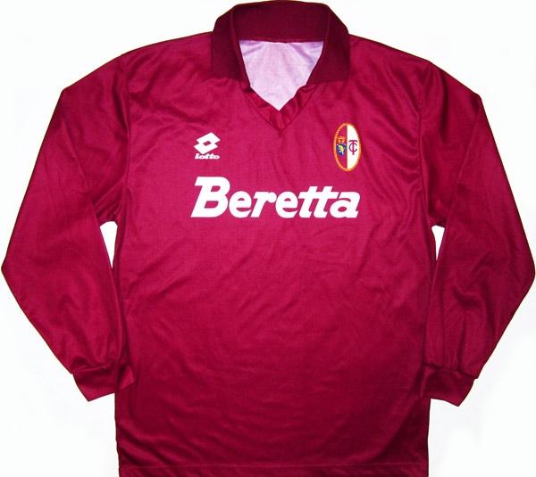 Sampdoria away jersey 1992  italy-1990-jersey torino-93-home-ls-2-3 c96cdbfd8