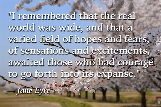 Quotes Jane Eyre Delectable Five Kickass Quotes From Jane Eyrecharlotte Brontë  Books