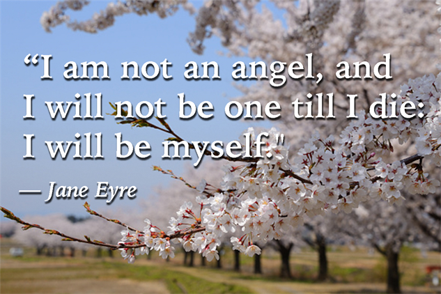 Quotes Jane Eyre Impressive Five Kickass Quotes From Jane Eyrecharlotte Brontë  Books