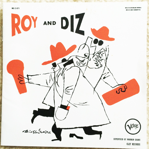 jazz-album-design -roy-eldridge-and-dizzy-gillespie-roy-and-diz-design-by-wend