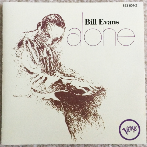 jazz-album-design bill-evans-alone-cover-art-nancy-reiner