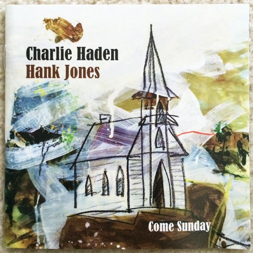 jazz-album-design charlie-haden-hank-jones-come-sunday-design-anna-kendler
