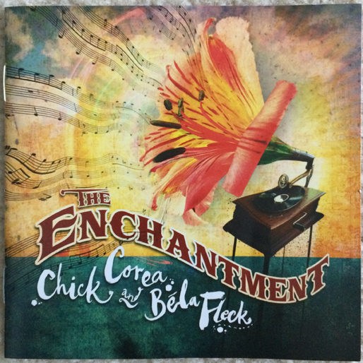 jazz-album-design chick-corea-and-bela-fleck-the-enchantment-design-marc-bessa
