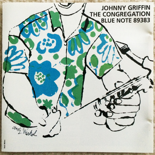 jazz-album-design johnny-griffin-the-congregation-blue-note-89383-illustration
