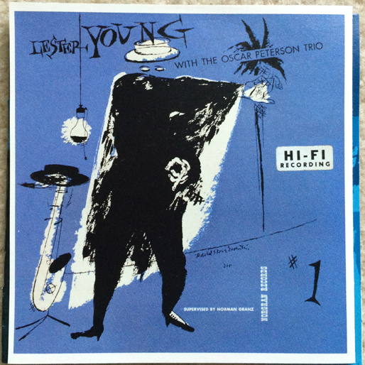 jazz-album-design lester-young-with-the-oscar-peterson-trio-design-by-edward-o