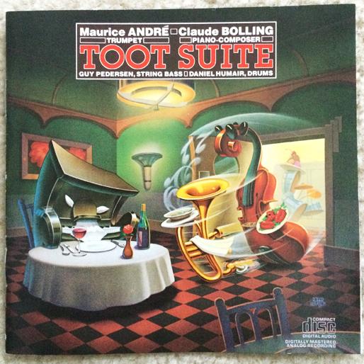 jazz-album-design maurice-andre-claude-bolling-toot-suite-art-roger-huyssen