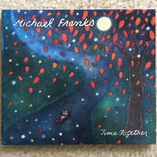 jazz-album-design michael-franks-time-together-design-alysabeth-beesmer