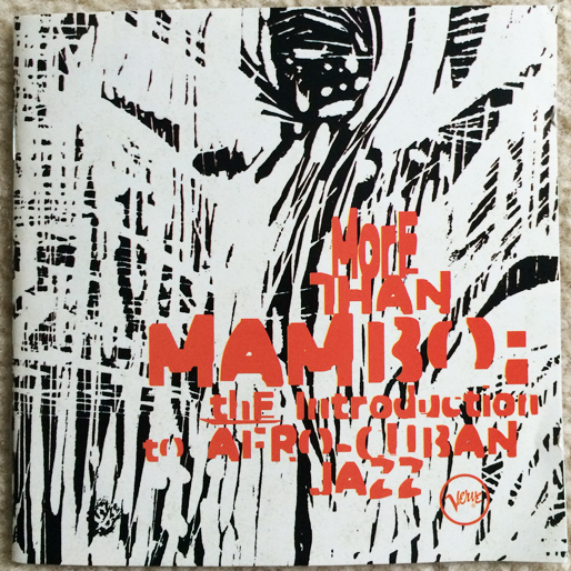 jazz-album-design more-than-mambo--the-introduction-to-afro-cuban-jazz-illustr