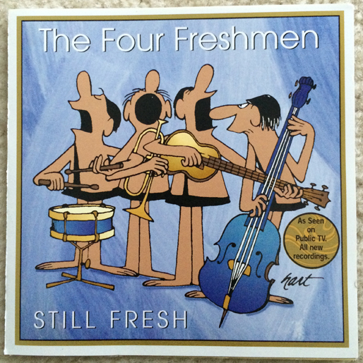 jazz-album-design the-four-freshmen-still-fresh-illustration-johnny-hart