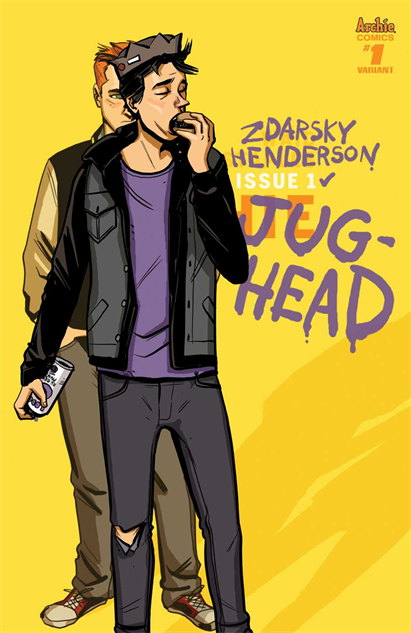 Chip Zdarsky Gives America's Greatest Burger-Munching BF the Spotlight in <i>Jughead</i>