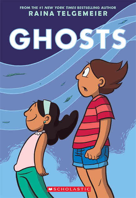 kidsscarycomics ghosts-front-cover