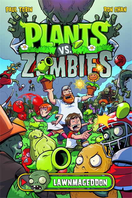kidsscarycomics plantszombies