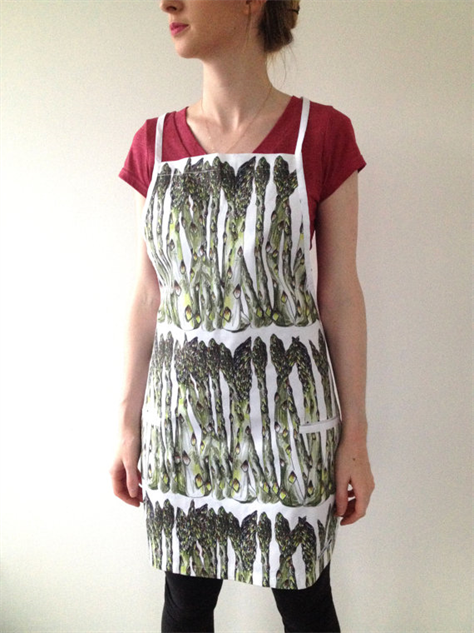 kitschy-kitchen-aprons asparagus