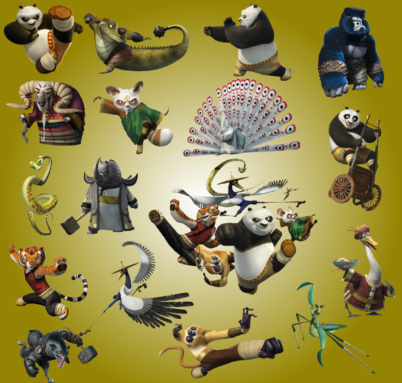 25 Kung Fu Panda Crafts And Collectibles On Etsy Paste