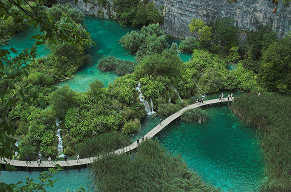 lakes plitvice-lakes-croatia-lakes
