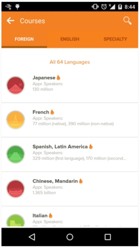 languageappsandroid mango