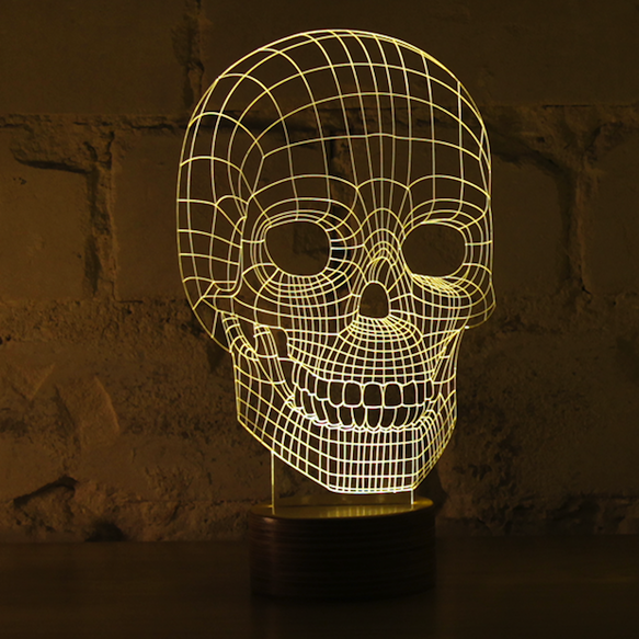 Bulbing Optical Illusion Led Lamp Kickstarter Design
