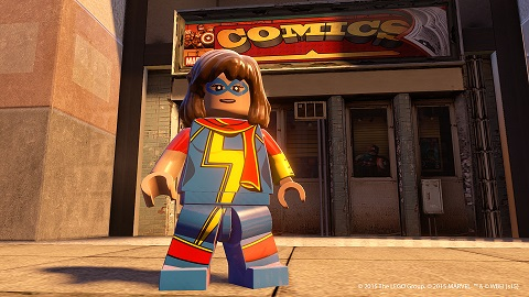 New <i>Lego Marvel's Avengers</i> Screenshots Reveal Ms. Marvel, Squirrel Girl and Thor