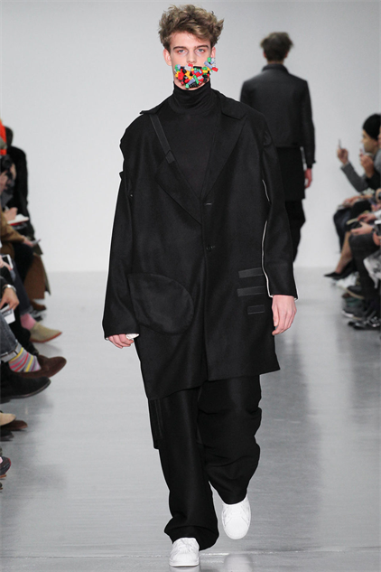 Check Out These Lego Masks from the Agi & Sam AW15 Menswear Show ...